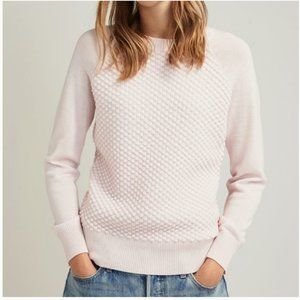 Ted Baker Salhie Bobble Stitch Pink Sweater 1 nwot